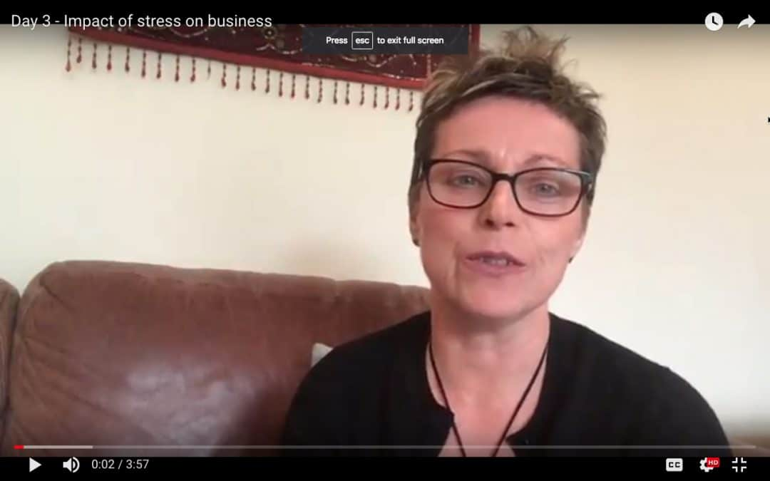 Day 3 – Impact of stress on business