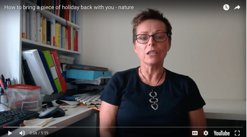How to bring a piece of holiday back with you – nature